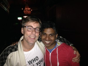 Denis Fernando and Felix of Basement Jaxx